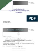 Cranfield Departmental Presentation