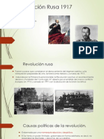 Revolución Rusa 1917 Equipo6