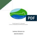 Normas Técnicas de Abastecimiento Chiclana de la frontera