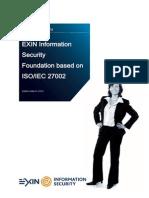 ISO27002 English Sample Exam