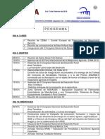 Actividades de la 36 edición de la FIMA. DEl 9 al 13 de Febrero de 2010