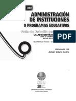 GE0323 Administración de instituciones o programas educativos - 2008 - Educación.pdf