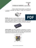 Partes Internas y Externas de la PC