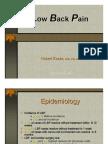 Low Back Pain (LBP)