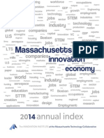 2014 Index of Massachusetts Innovation