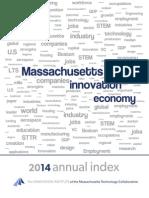 2014 Index of Massachusetts Innovation