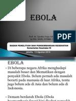 Ebola Update 13 Agustus 2014