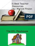 My 25 Best Teacher Resources Created by: