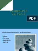 Elementele Culturii