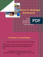 Bogdan Alina Sorina - Cultura Si Ideologia Dominanta