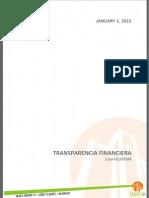 Transparencia financiera FEUTFSM | Junio-Noviembre