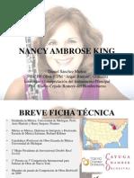 Nancy Ambrose King Presentación