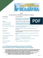 Program Multiconferinta 2013