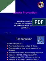 Stroke Prevention Dr Fauziah