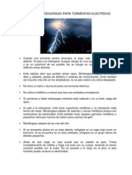 Lightning Safety Tips Spanish