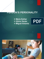 Person's Personality