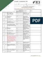 FEI WDC Elementary Test