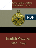 Time Pieces - Gold Watches 1700 - 1749
