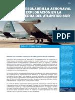 Escuadrilla aernaval de exploracion en la guerra del atlantico sur