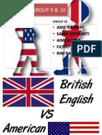USA English vs UK English