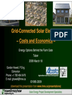 Grid-Connected Solar Electricity -Costs and Economics-ok