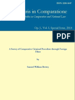 A Survey of Comparative Criminal Procedure through Foreign Films