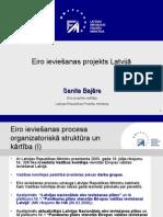 Eiro ieviešanas projekts Latvijā