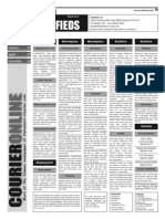 Claremont COURIER Classifieds 1-2-15