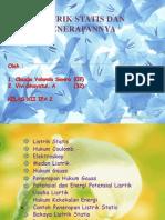 LISTRIK STATIS DAN PENERAPANNYA 2.ppt