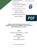 Informe Pasantias II,Ender Cabrera 18.048.667