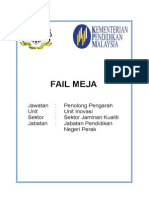Contoh Fail Meja Mengikut Format Kpm Portal Jpn Perak