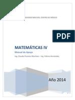 Cuadernillo de Matemáticas IV
