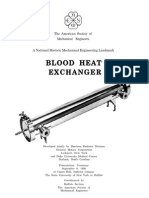 Blood Heat Exchanger
