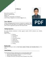 CV of Md. Atik Ullah Bhuiyan (Photo) MS