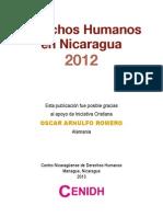 Derechos Humanos en Nicaragua CENIDH