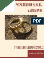 Preparándose Para El Matrimonio PIPER