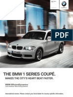 BMW 1 Series Coupe Catalogue