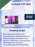 Synapseindia Drupal- Presentation on Drupal Info
