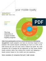 Paris Bakery Mobile Loyalty Solution Best Practice