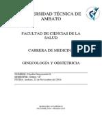 Historia Clinica Gineco-Obstetricia