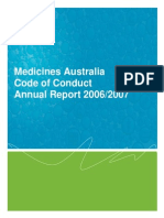 Code Conduct Annual Report 2007