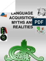 Language Acquisition Myths & Realities