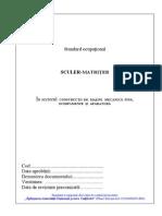 Standard Ocupational Sculer-matriter