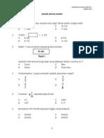 Matematik Tahun 4 Kertas 1 2014