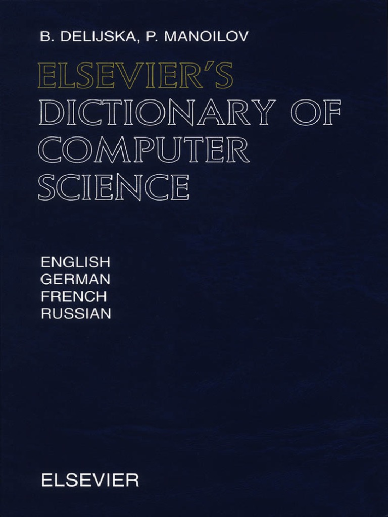 Elseviers Dictionary of Computer Science