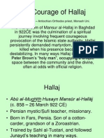 Courage of Hallaj