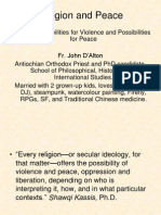 Religion and Peace-JD