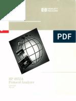 04952-90082 4952A Protocol Analyzer Operating Manual Nov89