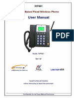 User Manual for fixed wireless phone