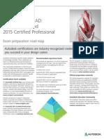 Autodesk AutoCAD 2015 Certification Roadmap